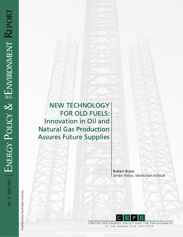 Energy Policy & environment Report      the                                                                            New...