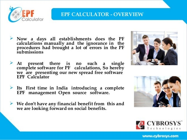 Download Employee Provident Fund Calculator Excel Template