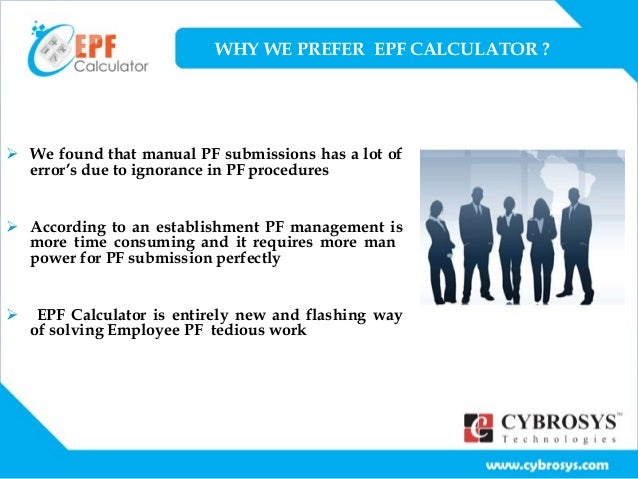 Download Employee Provident Fund Calculator Excel Template - ExcelDataPro