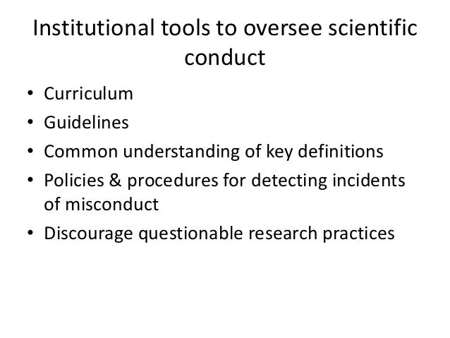 Australian Code for the Responsible Conduct of Research