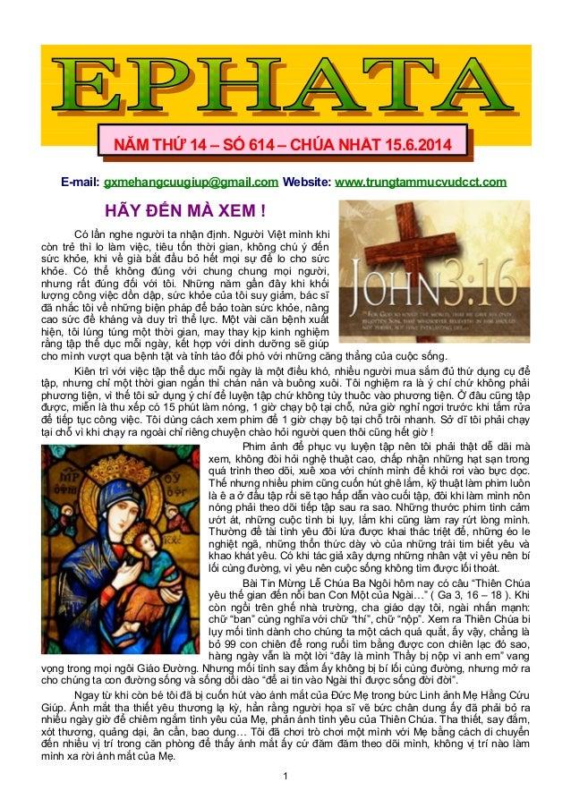 E-mail: gxmehangcuugiup@gmail.com Website: www.trungtammucvudcct.com HÃY ĐẾN MÀ XEM ! Có lần nghe người ta nhận định. Ngườ...