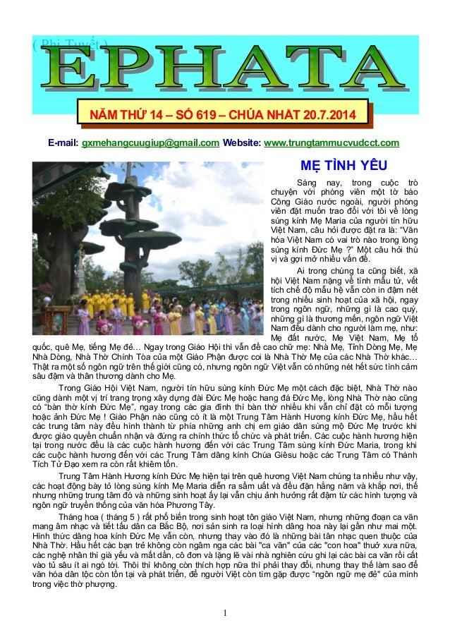 ( Phi Tuyết ) E-mail: gxmehangcuugiup@gmail.com Website: www.trungtammucvudcct.com MẸ TÌNH YÊU Sáng nay, trong cuộc trò ch...