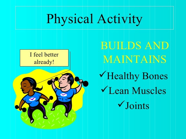 the importance of physical education and Kids and exercise kidshealth the national association for sport and physical education (naspe) offers these activity guidelines for infants, toddlers, and.