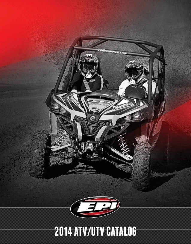 EPI ATV UTV Performance Clutch Kit Catalog 2014