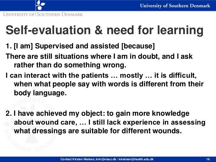 Nursing Informatics Competencies: Self-Assessment