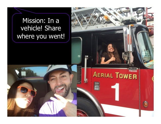 Mission: In a vehicle! Share where you went!