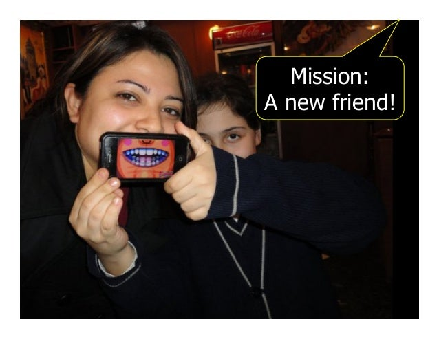 Mission: A new friend!