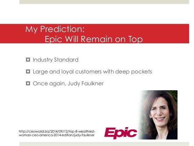 Epic Company Report