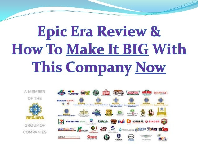Epic has partnered with eCosway, a 34-year-old direct sales company doing business in 17 countries, and will leverage eCos...