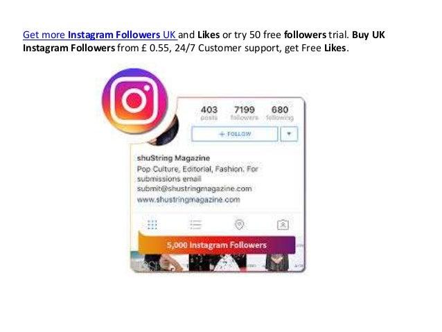 Cheap Instagram Followers UK 2019