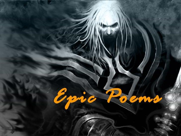 Epic Poems  Epic