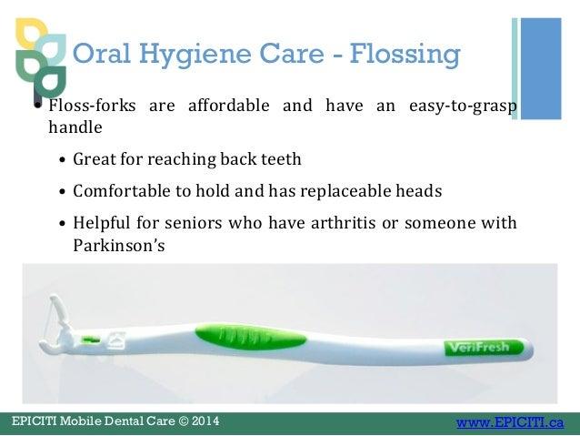 Dental Care For Seniors In Nursing And Retirement Homes