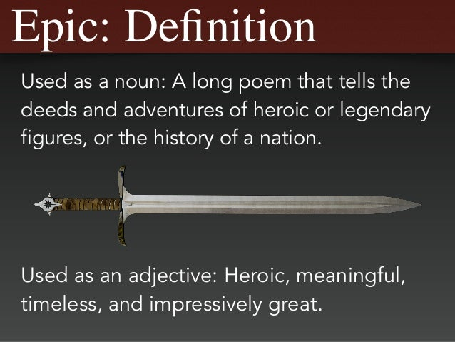 Charming Epic: Definition ...