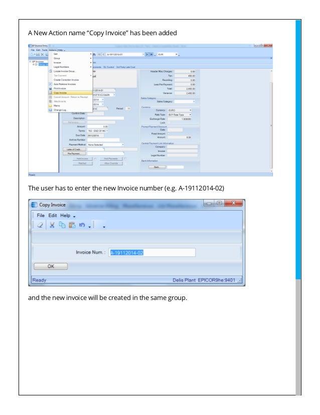 epicor erp custom solutions ap invoice copy