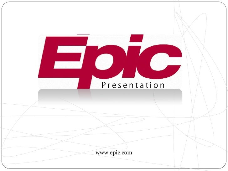 epic presentation rh slideshare net