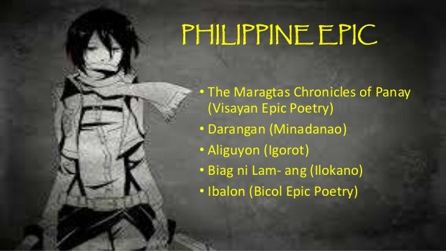 philippines epic story Phillipine epics - free download as word doc tradition and belief of the ilocano people of the philippines the story presented some of the qualities of the.