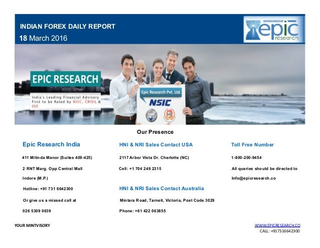 Forex report today