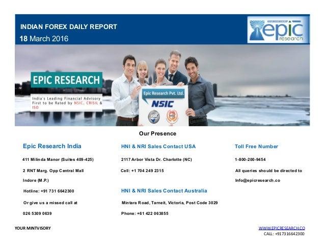 Forex report pdf