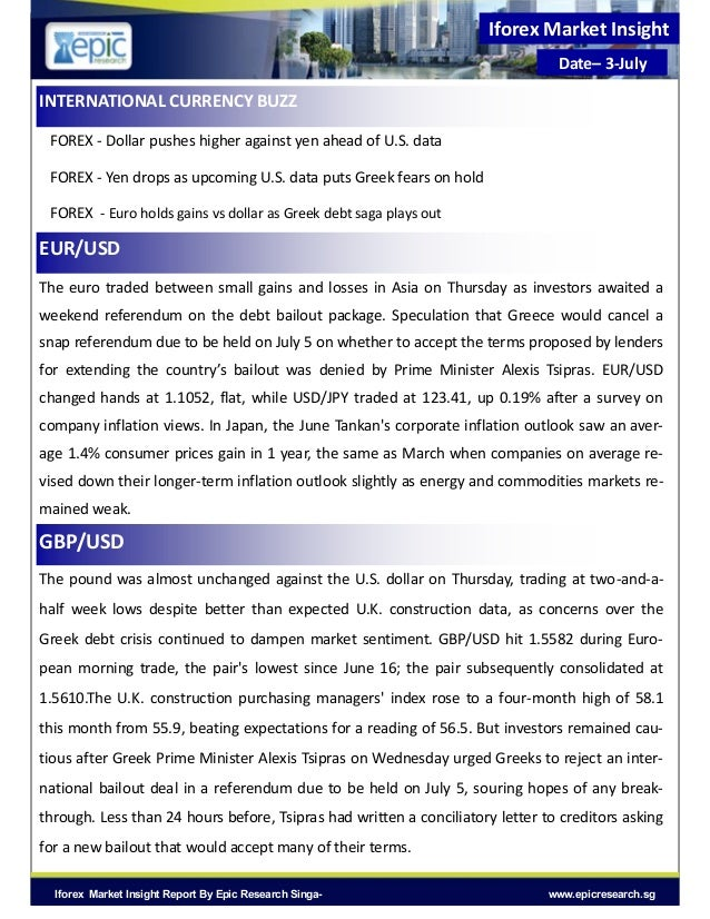 Forex report asia