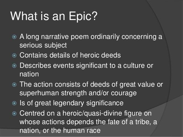 mock epic characteristics