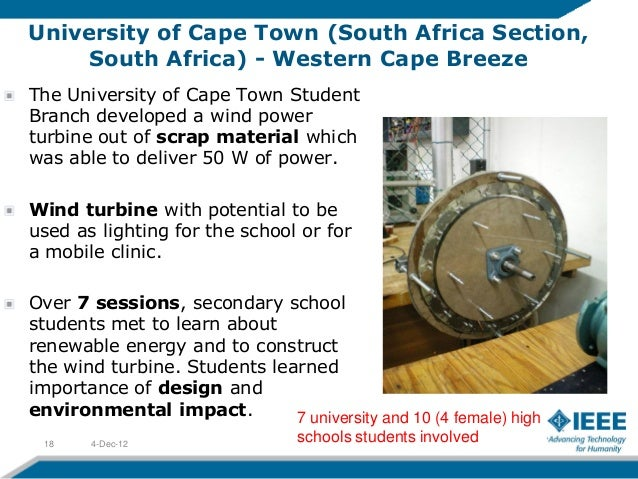 University of Cape Town (South Africa Section,     South Africa) - Western Cape BreezeThe University of Cape Town StudentB...