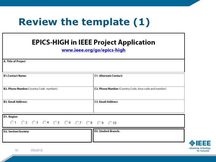 Proposal Writing Epics In Ieee