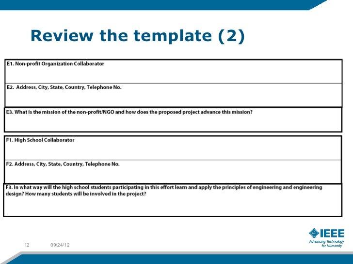Proposal Writing: EPICS-in-IEEE