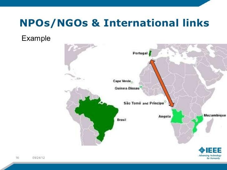 NPOs/NGOs & International links     Example16     09/24/12
