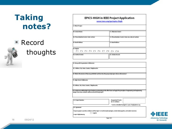 Taking       notes?      Record       thoughts18     09/24/12