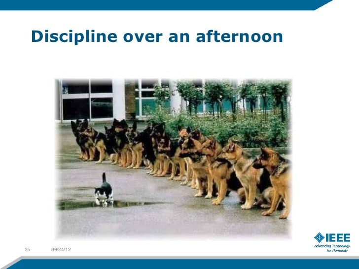 Discipline over an afternoon25     09/24/12