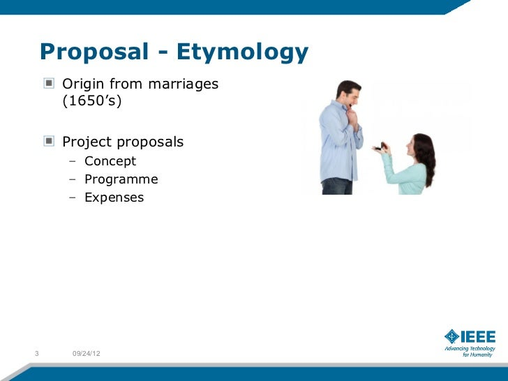 Proposal - Etymology     Origin from marriages     (1650's)     Project proposals      – Concept      – Programme      – E...