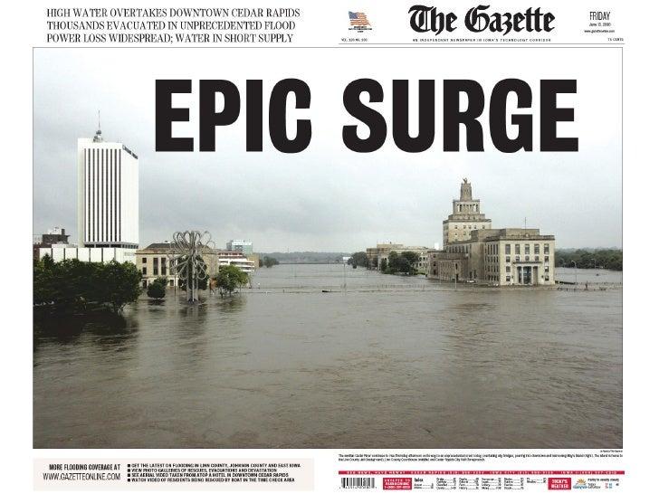Epic Surge front page