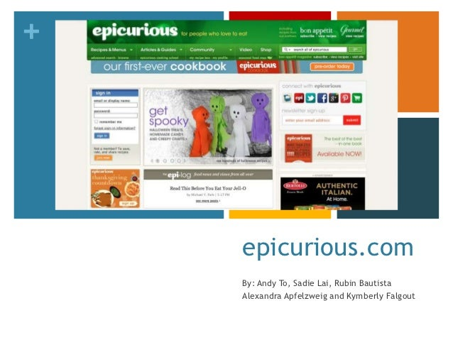 +    epicurious.com    By: Andy To, Sadie Lai, Rubin Bautista    Alexandra Apfelzweig and Kymberly Falgout