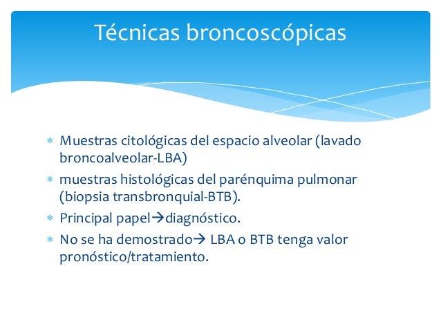  Histología:   Membranas Hialinas (local o difusas)   Organización de espacios aéreas   Engrosamiento de los septos al...