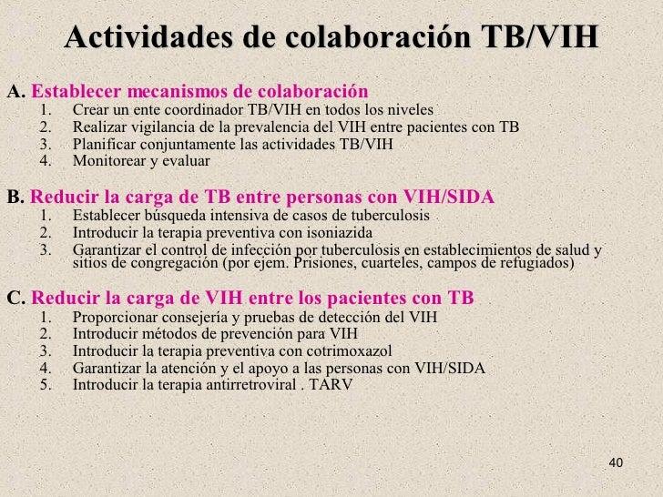 Tuberculosis Relacionada con el VIH