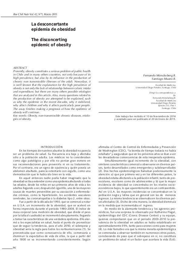 Epidemiologia obesidad