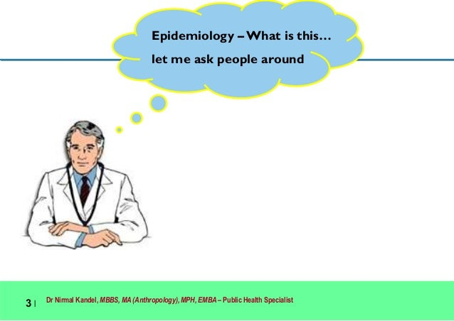 Epidemiology and Health Systems Slide 3