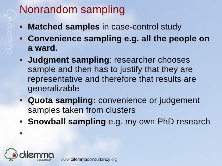 snowball choosing situation study