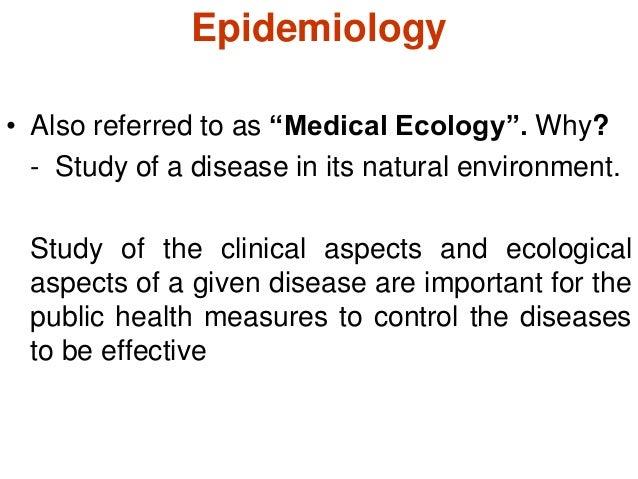 Epidemiology - SlideShare