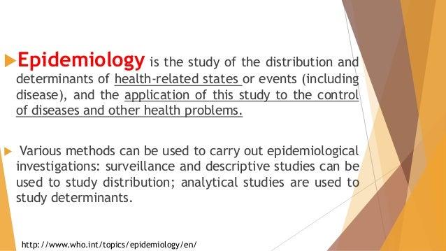 Epidemiology and Hand Hygiene Slide 2