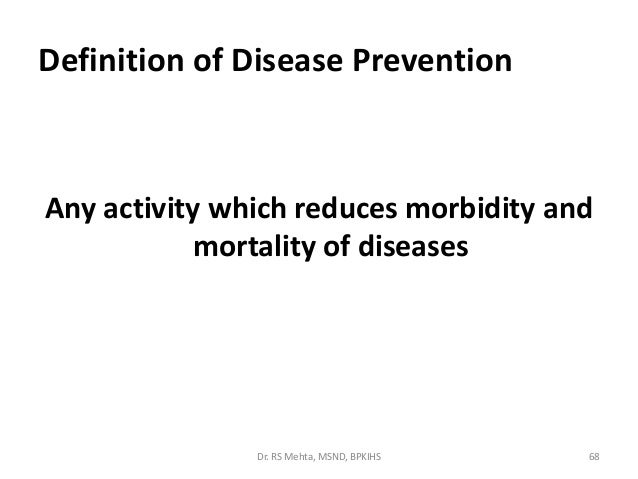 Epidemiology by prof. dr. rs mehta for msn students