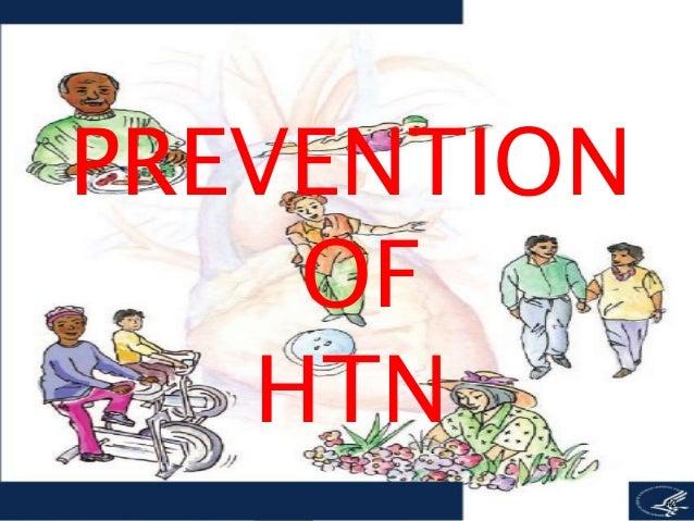 Preventive care of hypertension