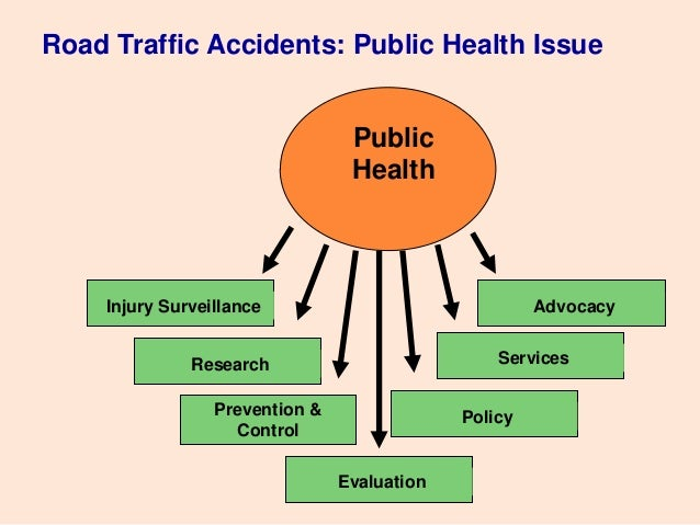 Public speaking prevention of road acc