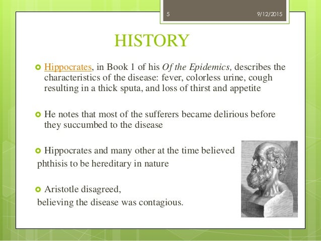 why was tuberculosis called