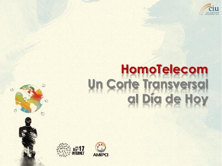 HomoTelecom Un Corte Transversal       al Día de Hoy    epiedras@the-ciu.net