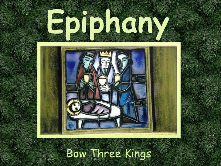 Bow Three Kings Epiphany
