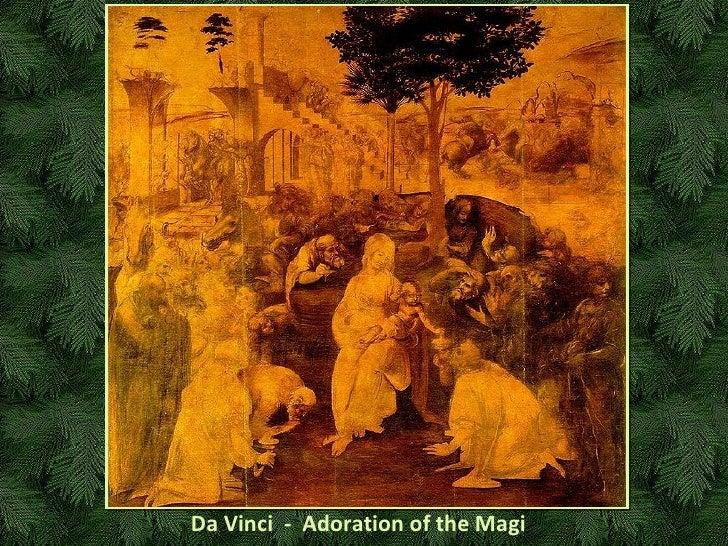 Da Vinci  -  Adoration of the Magi
