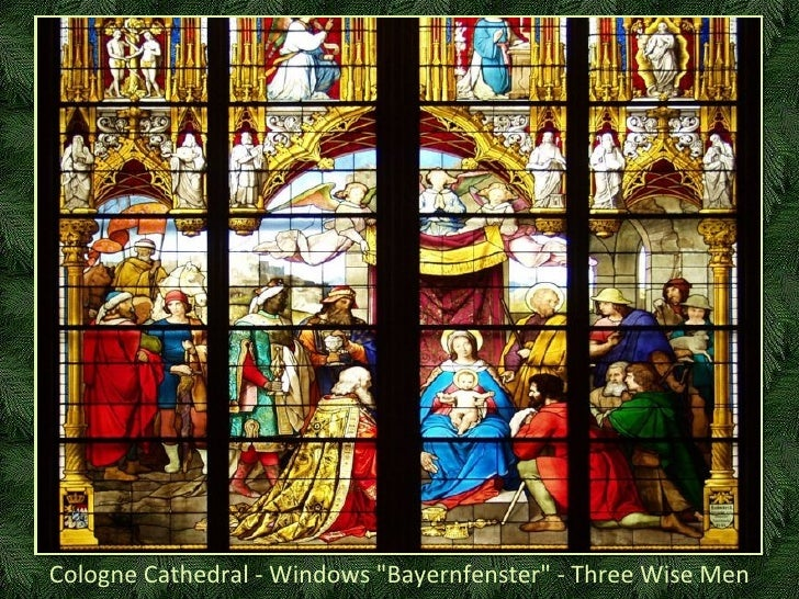 """Cologne Cathedral - Windows """"Bayernfenster"""" - Three Wise Men"""