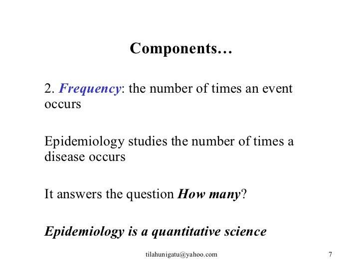epidemiological triad slideshare