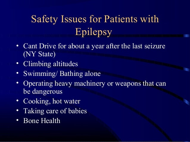 Dating a girl with epilepsy